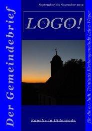 Gemeindebrief Herbst 2012 - Ev.-luth. Trinitatis-Kirchengemeinde ...