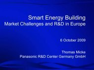 Smart Energy Building - Japan Business Council in Europe