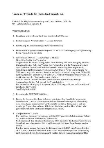 PDF-Format - Verein der Freunde des Rhododendronparks Bremen