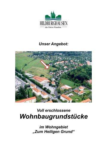 Angebotsprofil - Hildburghausen