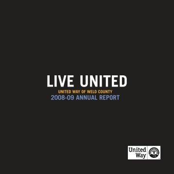 Annual Report.qxp - United Way of Weld County