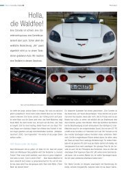 Corvette - Bild-Text-Ton
