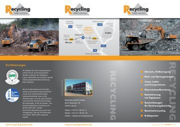 Flyer - RECYCLING GmbH Lahnau