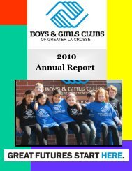 2010 Annual Report - Boys & Girls Clubs