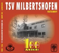 (Die Schrift liegt im PDF-Format vor) (der - TSV-Milbertshofen