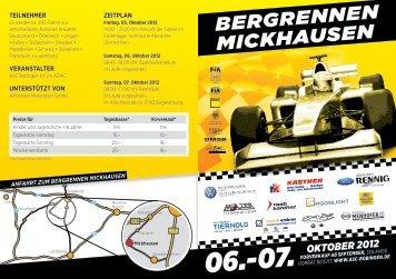 BERGRENNEN MICKHAUSEN - ASC Bobingen