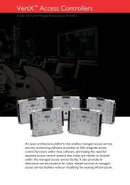 VertX Product Catalog - HID Global