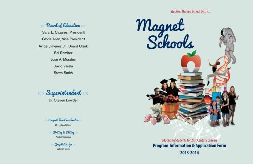 Magnet Schools Information Stockton Unified School District