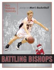 2009-10 Men's Basketball - Ohio Wesleyan University