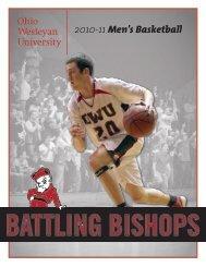2010-11 Men's Basketball - Ohio Wesleyan University
