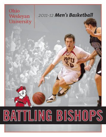 2011-12 Men's Basketball - Ohio Wesleyan University