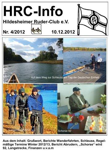 Das Heft 2012-4 erscheint im Dezember 2012