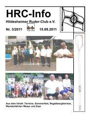 Heft 3 - Hildesheimer Ruder-Club