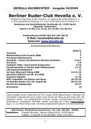 HEVELLA NACHRICHTEN ~ Ausgabe 04/2008 - Berliner Ruder ...