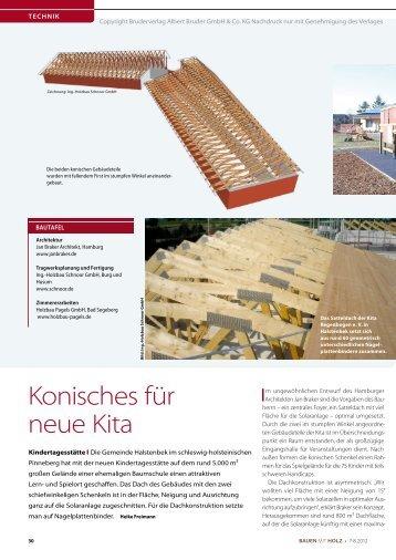 Bauen mit Holz (August 2012) – Konisches für die - Holzbau ...