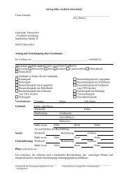 Antrag auf Genehmigung eines Grabmales Formular - Gemeinde ...
