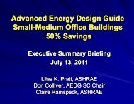 Advanced Energy Design Guide Small Medium Office ... - Ashrae