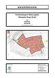 Begruendung Satzungsbeschluss - Gemeinde Heusweiler