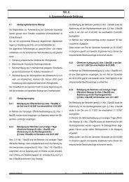 Zusammenfassende Erklaerung Satzungsbeschluss - Gemeinde ...
