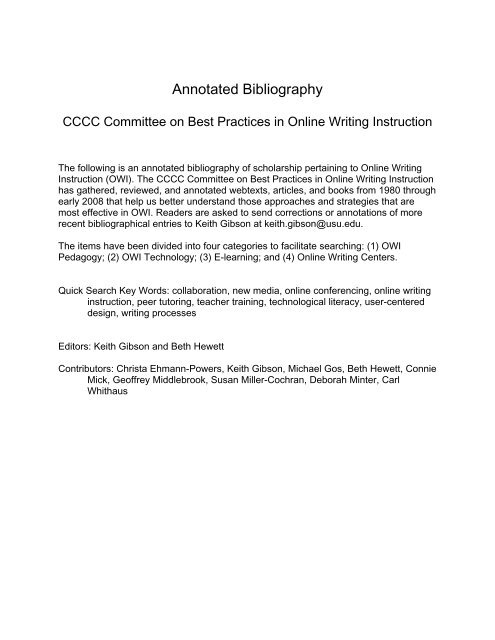 esl annotated bibliography proofreading website us