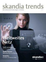 Skandia Kundenmagazin 2012