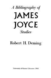 JAMES JOYCE - KU ScholarWorks - University of Kansas