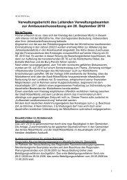 Bericht zur Amtsausschußsitzung am 20.9.2010 ... - Amt Röbel-Müritz