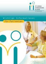 Patientenbroschür Teil I - Gesundheitsnetz Ostalbkreis