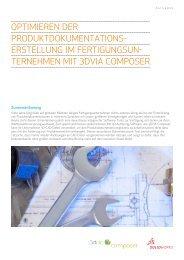 Optimierung der Produktdokumentationserstellung () - c+e forum AG