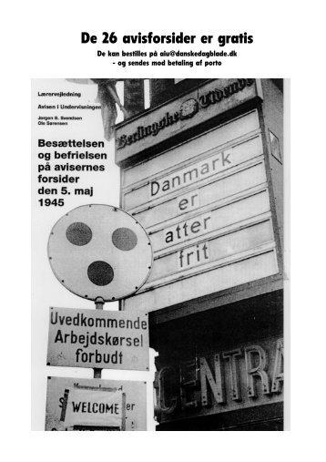 danmark frit 05.pdf - Danske Dagblades Forening