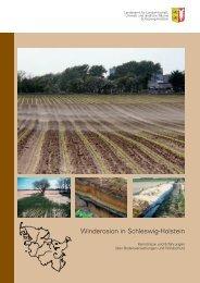 Winderosion in Schleswig-Holstein - Lehrstuhl für Physische ...