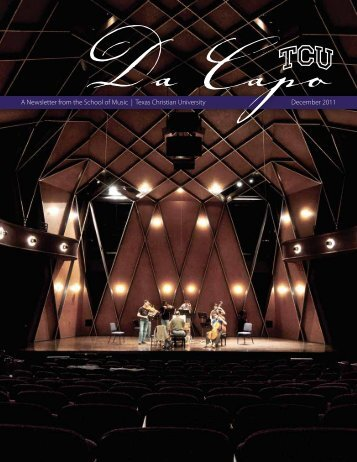 Download the 2011 Da Capo - TCU School of Music - Texas ...