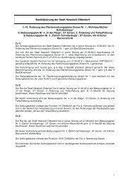 18. Änderung des Flächennutzungsplans Zersen Nr. 1 - Hessisch ...