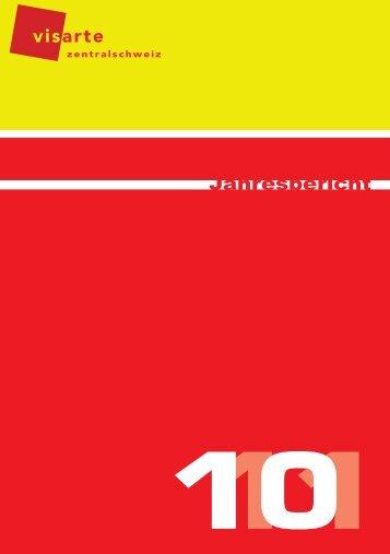 Jahresbericht 2010/2011, PDF, 2.8 MB - visarte-zentralschweiz