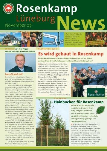 Die Ausgabe von November 2007 hier zum ... - in Rosenkamp