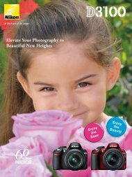 Nikon D3100 16p Brochure - Imaging Products - Nikon