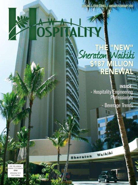 Sheraton Waikiki - Hawaii Hospitality magazine