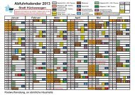 Abfuhrkalender 2013 - Bergischer Abfallwirtschaftsverband