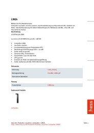Hess AG > Produkte > Leuchten > Lichtpoller > LINEA Seite 1 http ...
