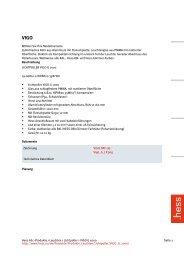 Hess AG > Produkte > Leuchten > Lichtpoller > VIGO G 1000 Seite 1 ...