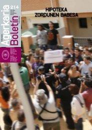 HIPOTEKA ZORDUNEN BABESA - Colegio de Abogados de Vizcaya