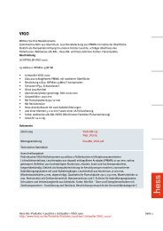 Hess AG > Produkte > Leuchten > Lichtpoller > VIGO 1000 Seite 1 ...