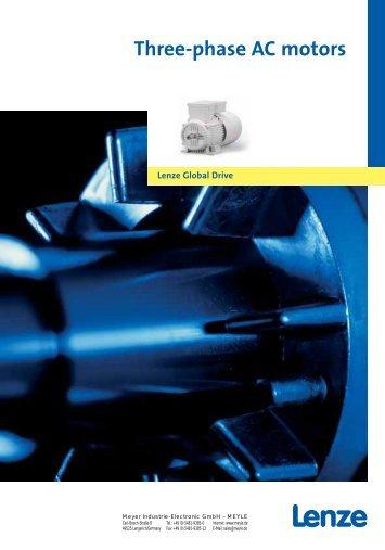 Lenze three-phase AC motors - MEYLE - Meyer Industrie Electronic ...