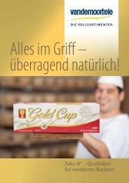 Gold Cup Back - Vandemoortele