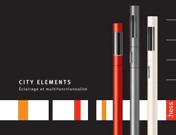 CITY ELEMENTS - Hess AG