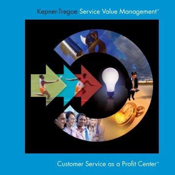 Customer Service as a Profit Center - itSM Solutions LLC