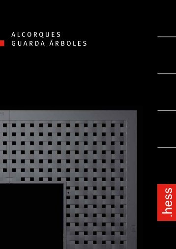 ALCORQUES GUARDA ÁRBOLES - Hess AG