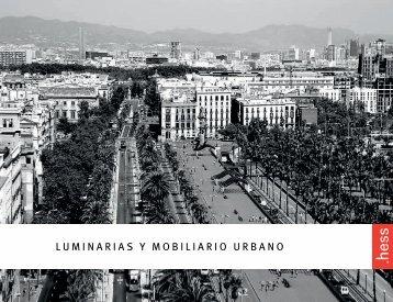 LUMINARIAS Y MOBILIARIO URBANO -  Hess AG