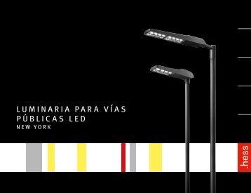 Luminaria para vías púbLicas LED - Hess AG