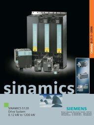 sinamics s120 - MEYLE - Meyer Industrie Electronic - MEYER ...